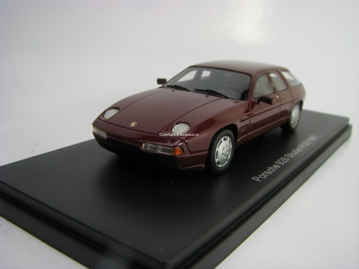 Porsche 928 H50 Concept Metallic Red 1:43 Neo Models